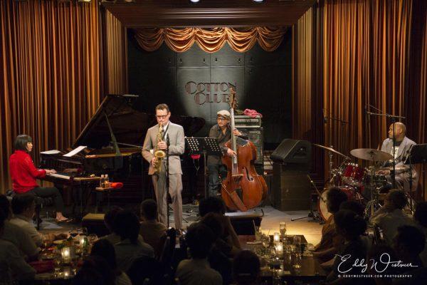 Benjamin Herman in Cotton Club Tokyo met Mayuko Katakura Trio