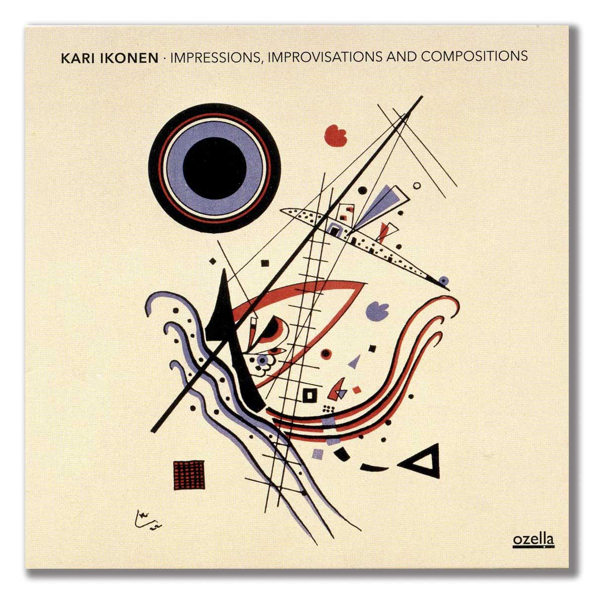 Kari Ikonen - cd cover 2021