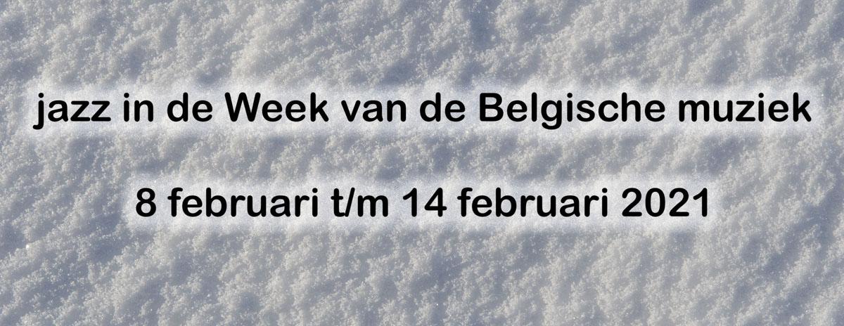 jazz in de week van de Belgische muziek