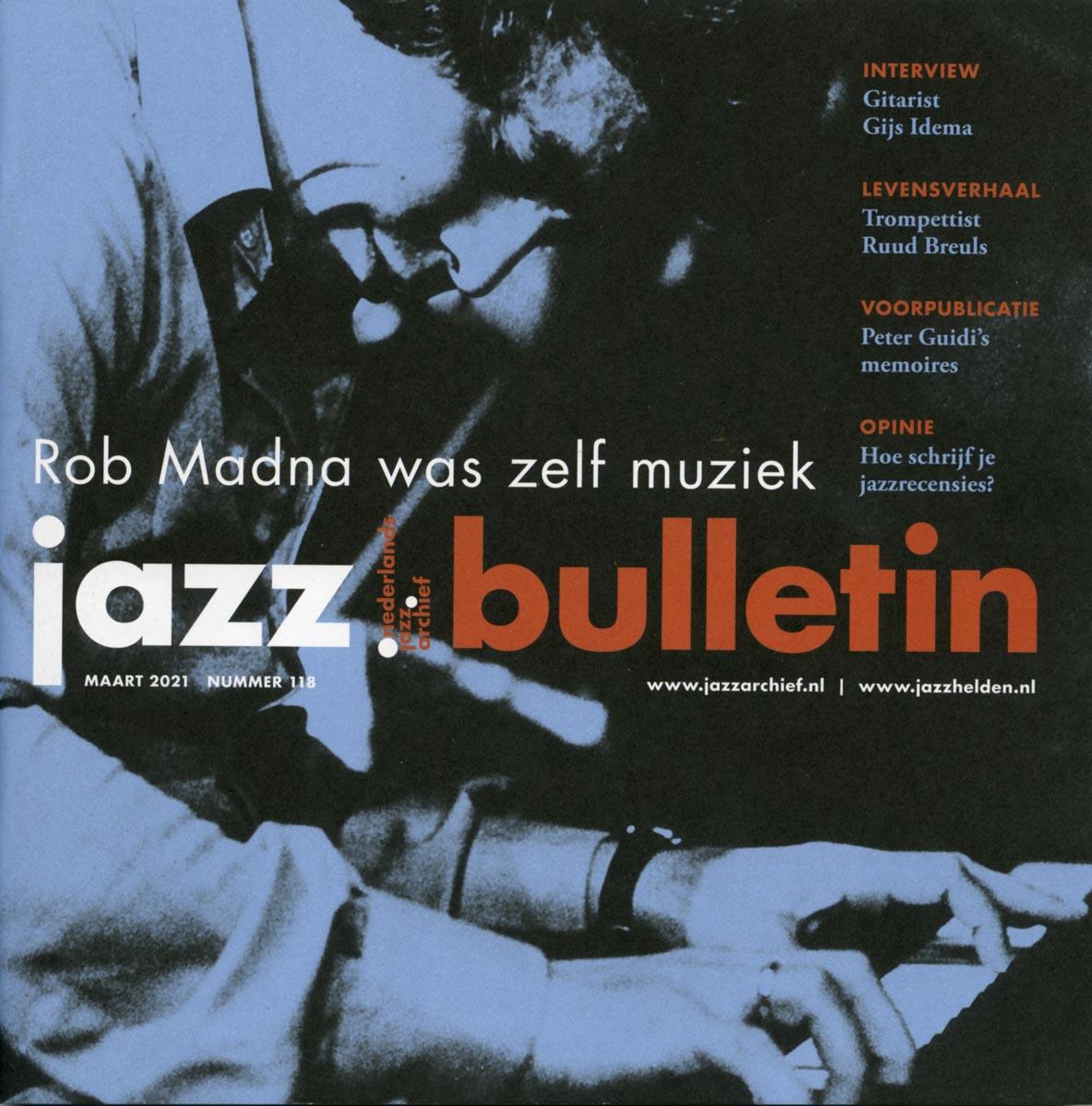 jazz bulletin maart 2021 nummer 118
