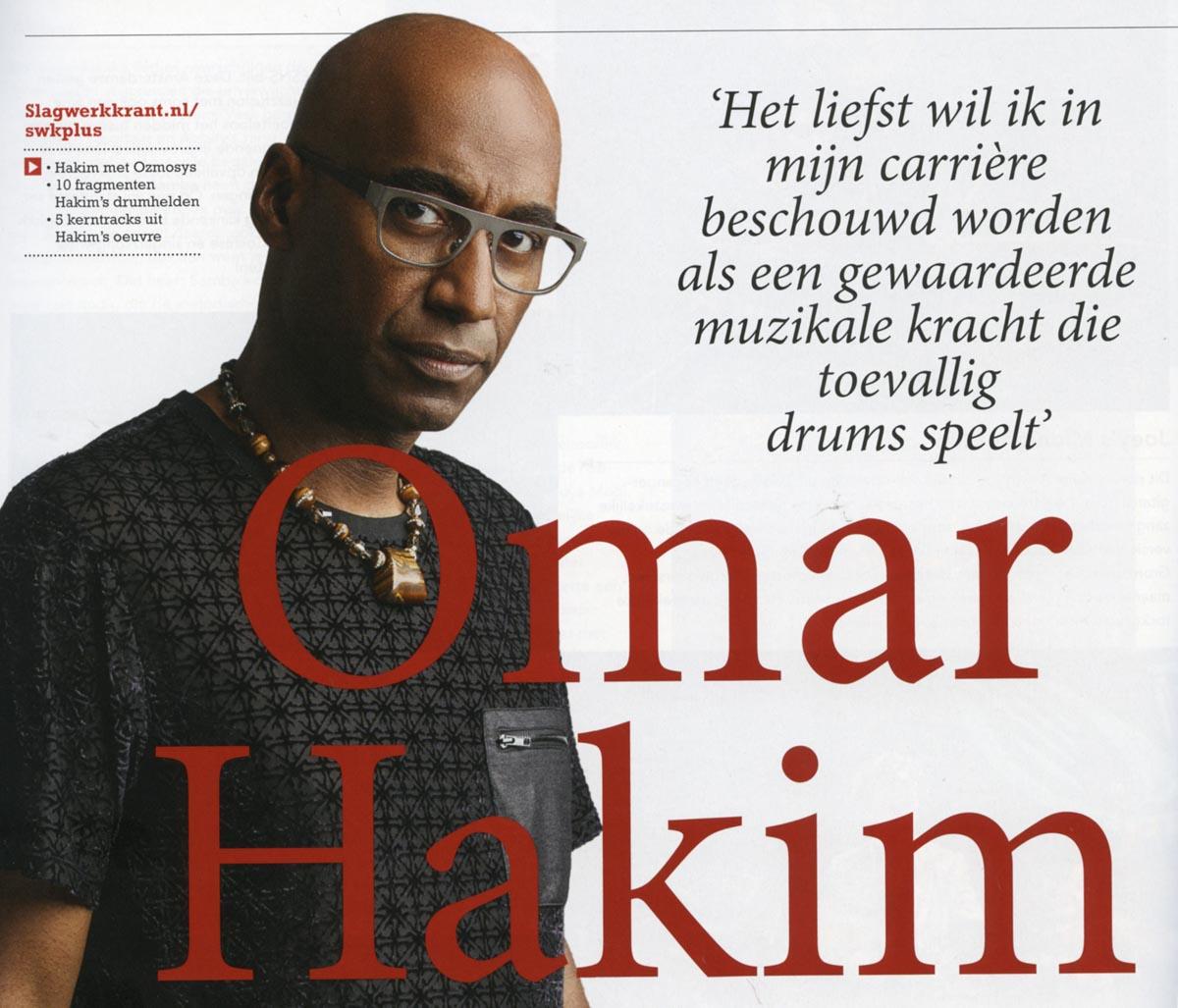 Omar Hakim over 10 drummers die hem omverbliezen