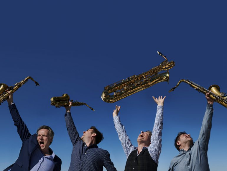 Artvark Saxophone Quartet & Leo van Oostrom