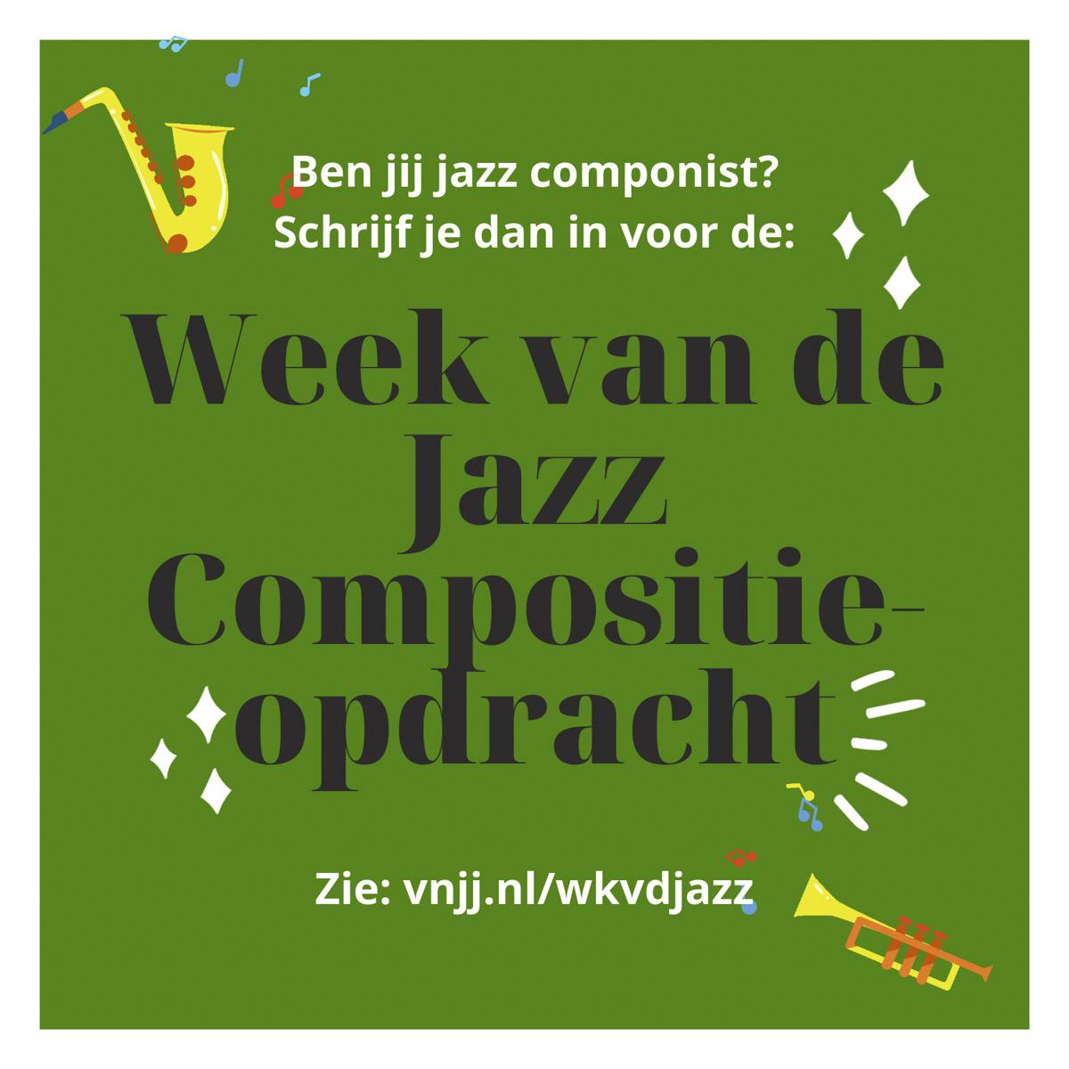 Week van de Jazz Compositie-opdracht
