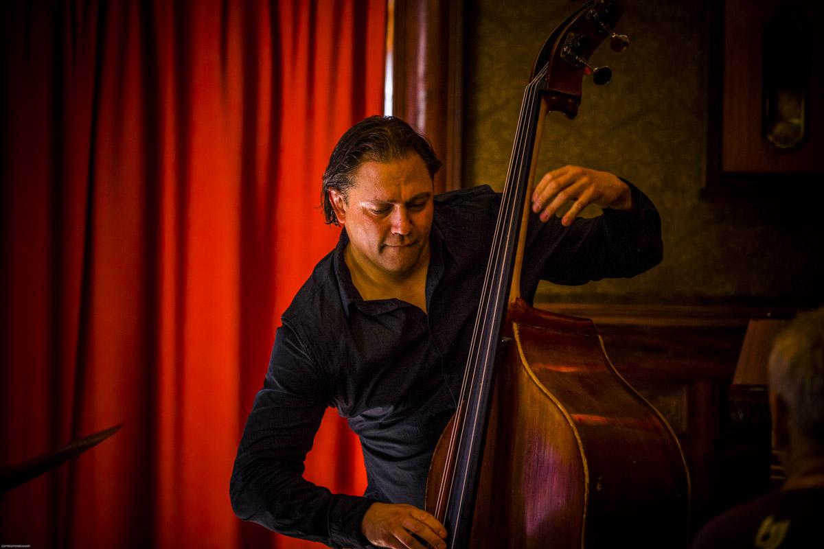 Jeroen Vierdag speelde bij pianist Cor Bakker