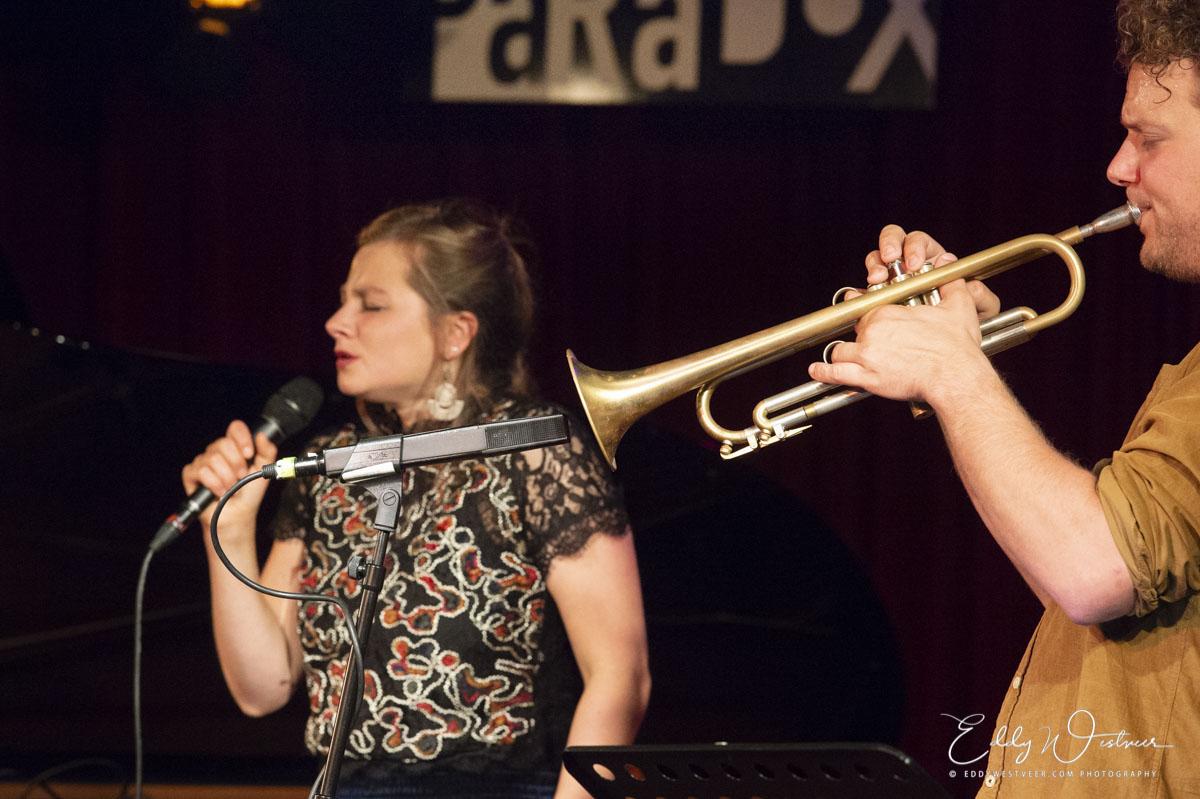Koen Smits en Sanne Rambags schuren met hun melodielijnen