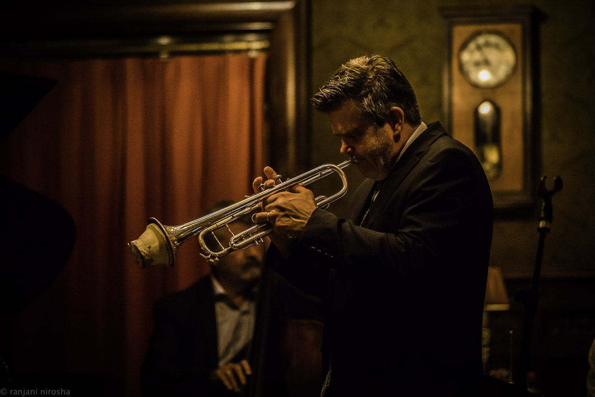 Trompettist Jan Wessels bij John Engels Quartet